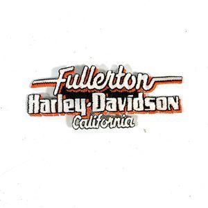 Fullerton California Harley Davidson Patch